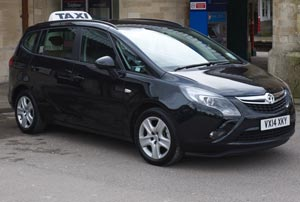 Taxi service in Cirencester